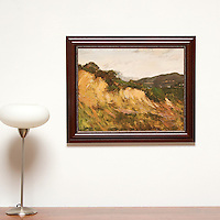 "Yaskulka: The Valley, Digital Print, Image Dims. 18"" x 22.75"", Framed Dims. 23"" x 27.5"""