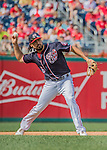 11 September 2016: Washington Nationals infielder Anthony Rendon in action against the Philadelphia Phillies at Nationals Park in Washington, DC. The Nationals edged out the Phillies 3-2 to take the rubber match of their 3-game series. Mandatory Credit: Ed Wolfstein Photo *** RAW (NEF) Image File Available ***