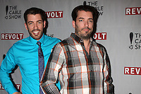 Drew Scott, Jonathan Scott<br /> at the NCTA's Chairman's Gala Celebration of Cable with REVOLT, The Belasco Theater, Los Angeles, CA 04-30-14<br /> David Edwards/DailyCeleb.Com 818-249-4998