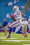 14 September 2014: Buffalo Bills wide receiver Marcus Easley warms up prior to facing the Miami Dolphins at Ralph Wilson Stadium in Orchard Park, NY. The Bills defeated the Dolphins 29-10 to win their home opener and start the season with a 2-0 record. Mandatory Credit: Ed Wolfstein Photo *** RAW (NEF) Image File Available ***
