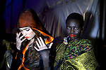 JOHANNESBURG, SOUTH AFRICA - MARCH 30: Models wait backstage before a show at Joburg Fashion Week on March 30, 2012, in Johannesburg, South Africa. (Photo by Per-Anders Pettersson)