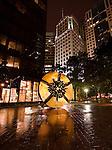 Charlotte NC - uptown sculpture, Grande Disc