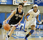 Sophomore guard Bria Gross guards High Point guard Tayler Tremblay at the Women's Basketball game at Memorial Coliseum in Lexington, Ky., on Saturday, November. 17, 2012..