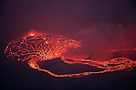 Nyiragongo Volcano, Virunga National Park, Democratic Republic of Congo