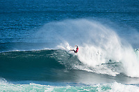 MARGARET RIVER, Western Australia/AUS (Sunday, April 9, 2017) Jack Freestone (AUS) - The final day of competition at the Drug Aware Margaret River Pro, Stop No. 2 of the World Surf League (WSL) Championship Tour (CT), commenced with the men&rsquo;s Quarterfinals, Semifinals and Final called ON for a 7:05 a.m. start. The remaining competitors battled it out in clean six-to-eight foot plus (2 - 2.5 metre) waves at Main Break.<br /> With John John Florence already through to the final a shark scare put the contest on hold during the second semi final between Filipe Toledo (BRA) and Kolohe Andino (USA).<br />  <br /> Photo: joliphotos.com