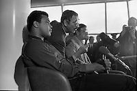 Muhammed Ali arrives.11/07/1972