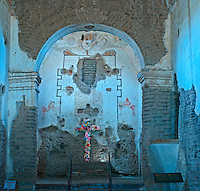 Mission San Jos&eacute; de Tumac&aacute;cori, Spanish mission, Tumacacori National Historic Park, Tumacacori, Arizona, interior