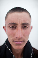 Djamshed Pamiri just got a haircut. Sarhad village, the end of the road in the Wakhan Corridor.