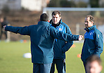 St Johnstone Training&hellip;03.02.17<br />Manager Tommy Wright talks with Callum Davidson and Alec Cleland during training this morning at McDiarmid Park ahead of Sunday&rsquo;s game against Celtic.<br />Picture by Graeme Hart.<br />Copyright Perthshire Picture Agency<br />Tel: 01738 623350  Mobile: 07990 594431