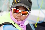 ISAF Emerging Nations Program, Langkawi, Malaysia.<br />Khairunhanna Bt Mohd Afendy<br />Siti Nurfateha Bt Norulakhairi.<br />420, Sail Number: MAS 53995