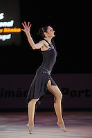 Anna Bessonova of Ukraine performs gala at 2011 World Cup at Portimao, Portugal on May 01, 2011.