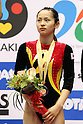 Ayano Kishi (JPN), JULY 9, 2011 - Trampoline : 2011 FIG Trampoline World Cup Series Kawasaki Women's Synchro Final at Todoroki Arena, Kanagawa, Japan. (Photo by YUTAKA/AFLO SPORT) [1040]