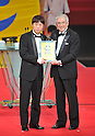 Ryang Yong-Gi (Vegalta),  Junji Ogura Japan Football Association President, DECEMBER 5, 2011 - Football : 2011 J.League Awards at Yokohama Arena, Kanagawa, Japan. (Photo by Atsushi Tomura/AFLO SPORT) [1035]