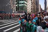 New York, New York<br /> November 22, 2012<br /> <br /> Macy's Day Thanksgiving Day Parade heads down 6th Avenue in Manhattan<br /> <br /> For the past 88 years, millions of Americans flock to the streets of Manhattan to see the parade in-person or gather around their television sets to watch the parade from home. <br /> <br /> What began as a small Macy's employee-run event has morphed into a huge production.