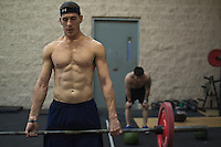 Brian Hines does a deadlift, Crossfit image, picture, photo, photography of health, elite, exercise, training, workouts, WODs, taken at Progressive Fitness CrossFit,Colorado Springs, Colorado, USA.