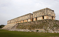 Governor?s Palace, 900-1000 AD, Puuc architecture, Uxmal late classical Mayan site, Yucatan, Mexico Picture by Manuel Cohen