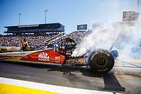 Mar 19, 2017; Gainesville , FL, USA; NHRA top fuel driver Doug Kalitta during the Gatornationals at Gainesville Raceway. Mandatory Credit: Mark J. Rebilas-USA TODAY Sports
