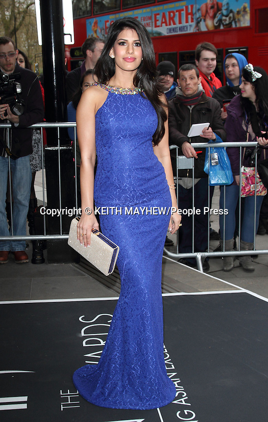 Fourth Annual Asian Awards at the Grosvenor House Hotel, Park Lane, London on April 4th 2014<br /> <br /> Photo by Keith Mayhew