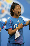 06 August 2008: Yuki Nagasato (JPN).  The women's Olympic team of New Zealand tied the women's Olympic soccer team of Japan 2-2 at Qinhuangdao Olympic Center Stadium in Qinhuangdao, China in a Group G round-robin match in the Women's Olympic Football competition.