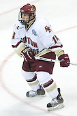 Matt Greene (Boston College - Plymouth, MA) - The Michigan State Spartans defeated the Boston College Eagles 3-1 (EN) to win the national championship in the final game of the 2007 Frozen Four at the Scottrade Center in St. Louis, Missouri on Saturday, April 7, 2007.