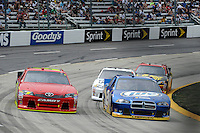 30 March - 1 April, 2012, Martinsville, Virginia USA.David Stremme, Brad Keselowski.(c)2012, Scott LePage.LAT Photo USA