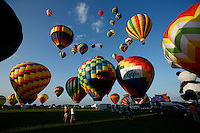 New York, USA. 25 July 2014.  People watch the 32th annual Balloon festival in Readington, New Jersey. Photo by VIEWpress