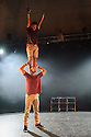 Barely Methodical Troupe presents BROMANCE, in the Beauty, part of the new Underbelly Circus Hub on the Meadows, during Edinburgh Festival Fringe. Barely Methodical are: Louis Gift, Charlie Wheeler, Beren D'Amico.