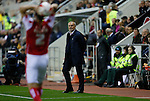 Rotherham 1 Sheffield Wednesday 2, 23/10/2015. New York Stadium, Championship. Second-half goals from Lucas Joao and Fernando Forestieri gave Sheffield Wednesday a derby victory at Rotherham. Rotherham's Manager Neil Redfearn. Photo by Paul Thompson.