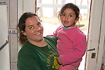 Estela & Our Mascot