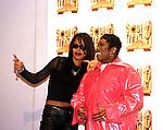 Aaliyah 1998 with Missy Elliott..© Chris Walter..