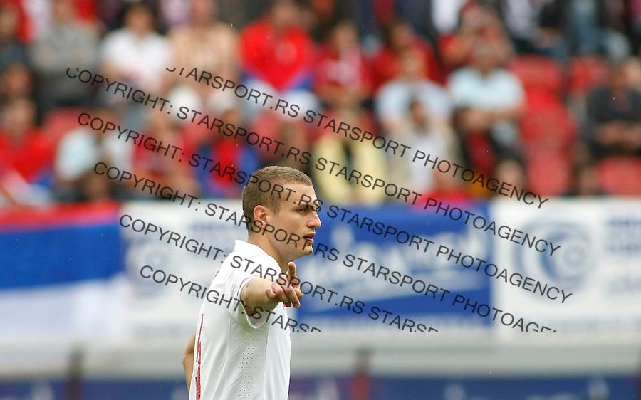 Fudbal, World Cup 2010, preparations.Austria international test match.Serbia Vs. New Zeland, friendly match.Nemanja Vidic.Klagenfurt, 29.05.2010..foto: Srdjan Stevanovic/Starsportphoto ©