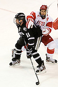 Tim Schaller (PC - 11), Ryan Ruikka (BU - 2) - The Boston University Terriers defeated the visiting Providence College Friars 4-2 (EN) on Saturday, December 13, 2012, at Agganis Arena in Boston, Massachusetts.