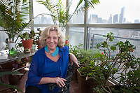 New York, NY - October 03, 2013 : Author Erica Jong at her apartment in New York, NY on October 03, 2013. Fear of Flying, celebrating its 40th anniversary, is a 1973 novel by Erica Jong, which became famously controversial for its attitudes towards female sexuality, and figured in the development of second-wave feminism.(Photo by Melanie Burford/Prime for The Washington Post)