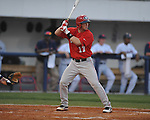 Mississippi vs. Georgia's Kyle Farmer (17) in college baseball action at Oxford-University Stadium in Oxford, Miss. on Friday, April 8, 2011. Georgia won 9-8.