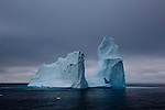 Cathedral iceberg, Baffin Bay, west of Greenland.<br /> <br /> Limited edition C-Type Prints available - contact me for more details.