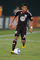 DC United midfielder Andy Najar (14)  The Columbus Crew defeated DC United 1-0 at RFK Stadium, Saturday September 4, 2010.