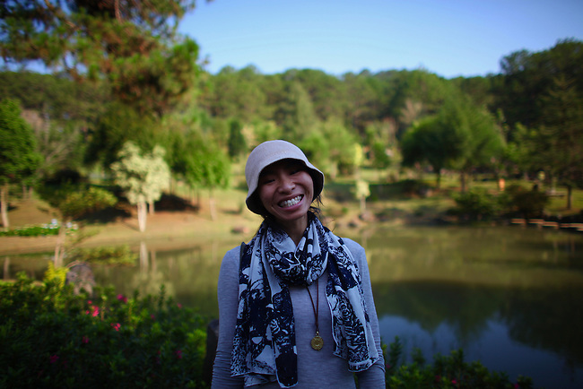 The Valley of Love. Dalat, Vietnam.  April 19, 2016