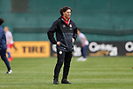 WASHINGTON, DC - MARCH 07: Germany assistant coach Verena Hagedorn (GER). The England Women's National Team played the Germany Women's National Team as part of the SheBelieves Cup on March 7, 2017, at RFK Stadium in Washington, DC. Germany won the game 1-0.