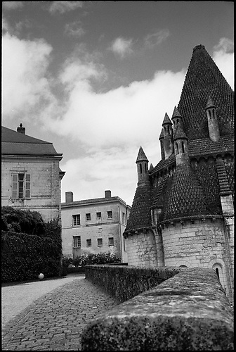 Former Monastery Kitchen, Fontevraud Abbey, Chinon, France by Paul Cooklin