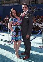 """HOLLYWOOD, CA - May 18: Lauren Ash, Umberto Gonzalez, At Premiere Of Disney's """"Pirates Of The Caribbean: Dead Men Tell No Tales"""" At Dolby Theatre In California on May 18, 2017. Credit: FS/MediaPunch"""