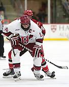 Alexander Kerfoot (Harvard - 14), Alexander Dahl (SLU - 14) - The Harvard University Crimson defeated the St. Lawrence University Saints 6-3 (EN) to clinch the ECAC playoffs first seed and a share in the regular season championship on senior night, Saturday, February 25, 2017, at Bright-Landry Hockey Center in Boston, Massachusetts.