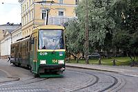 Helsinki, Finlandia.Trasporti pubblici.