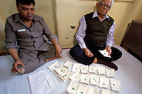 In Jaipur India, the world capital leader of Emerald cutter, Muslim dealer's are selling emeralds from Afghanistan