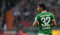 FUSSBALL   1. BUNDESLIGA   SAISON 2013/2014   9. SPIELTAG SV Werder Bremen - SC Freiburg                           19.10.2013 Oezkan Yildirim (SV Werder Bremen)