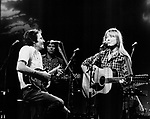 Sissy Spacek and Levon Helm 1980 on Midnight Special doing Coal Miners Daughter