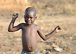 A boy in Yei, Southern Sudan.