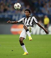 FUSSBALL   CHAMPIONS LEAGUE   SAISON 2013/2014   PLAY-OFF FC Schalke 04 - Paok Saloniki        21.08.2013 Lino (Paok) am Ball
