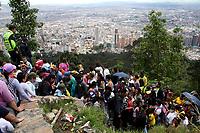 Jueves Santo en Monserrate ,13-04-2017