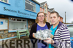 Deborah Callis Secretary and Michelle O'Brien Chairperson who were shocked to find that the proceeds from the Christmas craft fair had been stolen from Sneem Resouce centre over the weekend