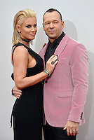 LOS ANGELES, CA - NOVEMBER 20: Jenny McCarthy, Donnie Wahlberg at the 44th Annual American Music Awards at the Microsoft Theatre in Los Angeles, California on November 20, 2016. Credit: Koi Sojer/Snap'N U Photos/MediaPunch